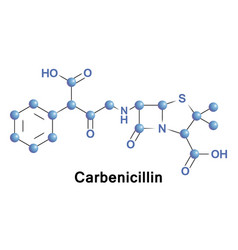 Carbenicillin is bactericidal antibiotic vector