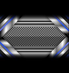 modern metallic background vector image vector image