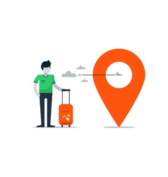 Travel agency services vector