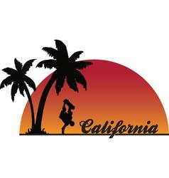 Californiaskateboarder vector