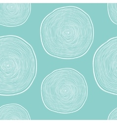 forest seamless pattern with wood cuts vector image vector image