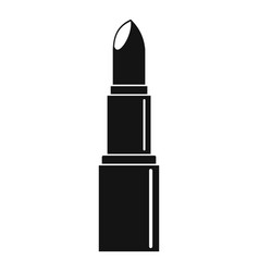 Lipstick icon simple style vector