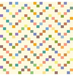 Seamless geometric pattern with zigzags seamless vector image vector image