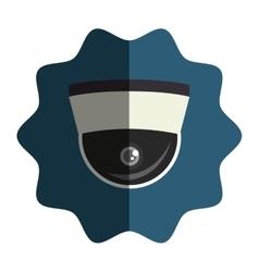 security cam cctv icon vector image