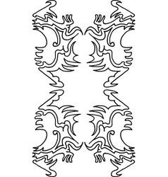 Wallpaper pattern 4-3 vector