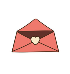 mail message celebration greeting love vector image