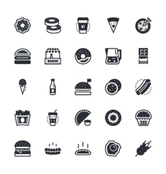 Food Vegetables Icons 1 vector image