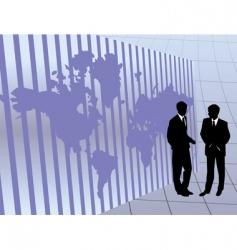 international business vector image