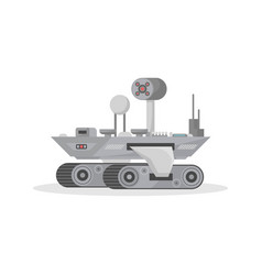 Mars research rover isolated icon vector