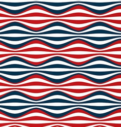 seamless red blue stripes vector image
