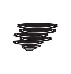 storm logo vector image