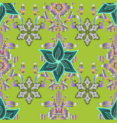 Vintage retro style seamless pattern with vector