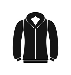 Sweatshirt icon in simple style vector image