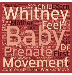 Prenatal movement and parental response i can feel vector