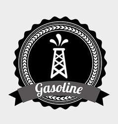 Gasoline design vector