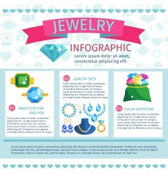 Precious Jewels Infographics vector image