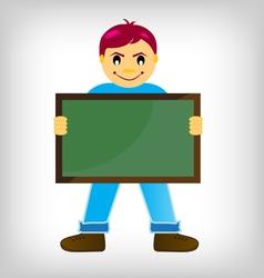 chalk boards vector image