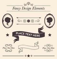 Fancy Design Elements Collection vector image