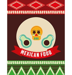 Mexican food design vector