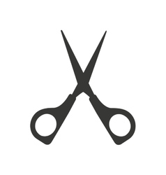 Cutting scissors isolated icon design vector