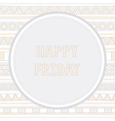 Happy friday background1 vector