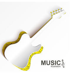 Music abstract design concept vector