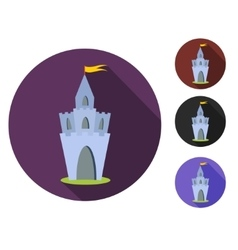 Royal Castle set vector image