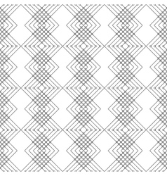 Geometric pattern with black and white background vector