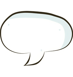 comic book speech bubble symbol vector image vector image