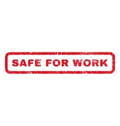 Safe for work rubber stamp vector