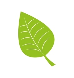 Leaf recycle envioment nature design vector