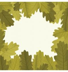 autumn framework vector image