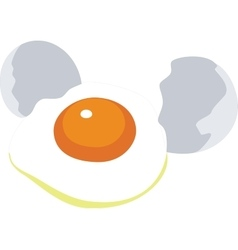 Egg color 01 vector