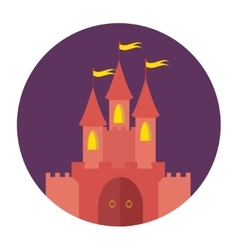 Royal castle vector