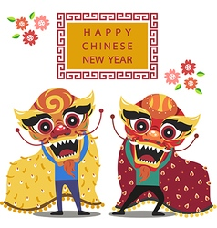 chinese new year2 vector image vector image