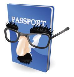 Identity fraud concept vector