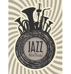 Banner for jazz festival vector