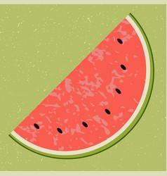 Fruit water melon clip art vector
