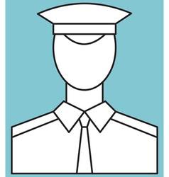 Serviceman vector