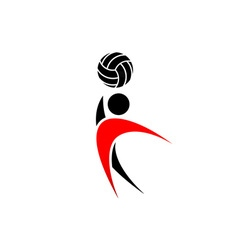 Volleyball-380x400 vector image