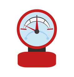 Indicator meter icon vector