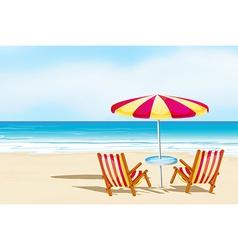 Beachsand vector image vector image
