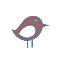 Bird icon image vector