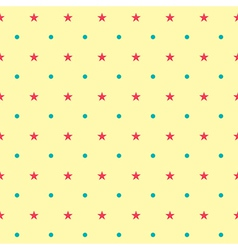 Colorful star pattern vector