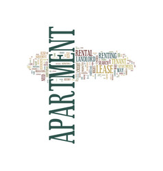 The apartment search text background word cloud vector