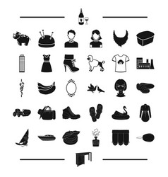 Travel atelier appearance and other web icon in vector
