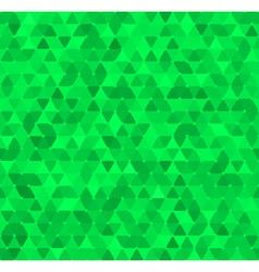 Triangle ornament vector image vector image