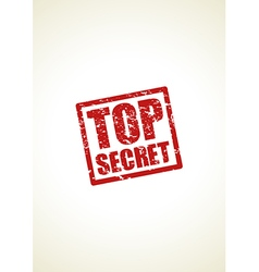 top secret vector image