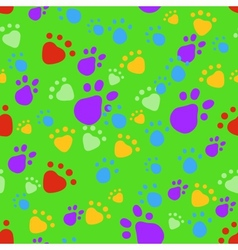 Bright pet seamless pattern vector