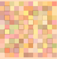 color abstract 3d cube background vector image